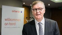 Marke wird wohl verschwinden: Air Berlin verhandelt mit drei Interessenten