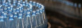 Deutsche lieben's still: Mineralwasser-Produktion steigt auf Rekord