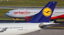Schnelle Aufteilung möglich: Lufthansa will Großteil von Air Berlin