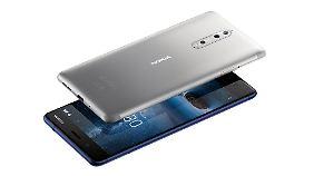 So sieht das matte Nokia 8 aus.