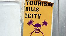 """""""Der Tourismus tötet Mallorca"""": Urlauber jucken die Proteste nicht"""