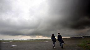 Pause für Sommer-Temperaturen: Wochenende treibt Regen über Deutschland