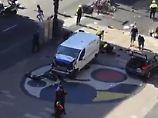 Tote und Verletzte: Lieferwagen rast in Menschenmenge in Barcelona