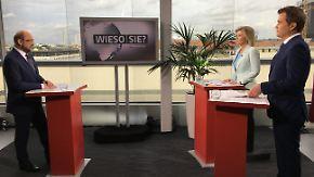 """Interview mit dem SPD-Kanzlerkandidaten: """"Wieso Sie, Martin Schulz?"""""""