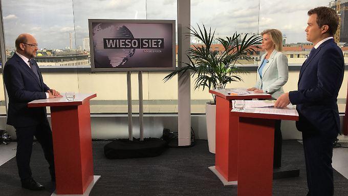 """Interview mit dem Kanzlerkandidaten: """"Wieso Sie, Martin Schulz?"""""""