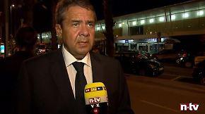 """Gabriel im n-tv Interview in Barcelona: """"Es gibt keine hundertprozentige Sicherheit"""""""