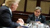 Indiskretionen begleiten Trumps bisherige Präsidentschaft. Und einige davon gehen angeblich auch auf Bannons Konto.
