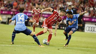 Robben grantelt, Müller lächelt: FC Bayern tanzt grandios und grausig