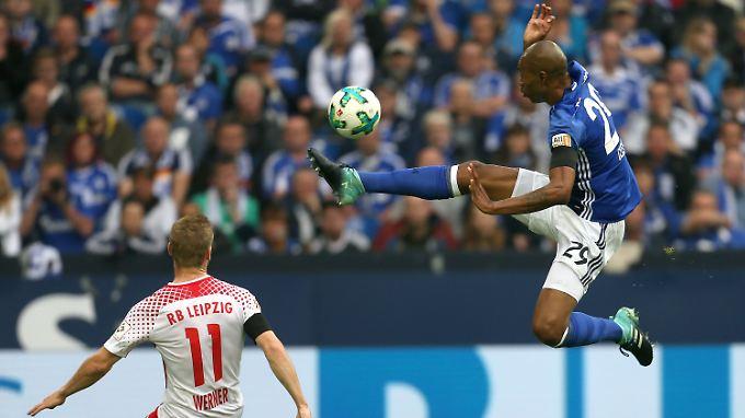 Schalkes Abwehr um Naldo ließ der hochgelobten Leipziger Offensive um Nationalstürmer Timo Werner keinen Stich.