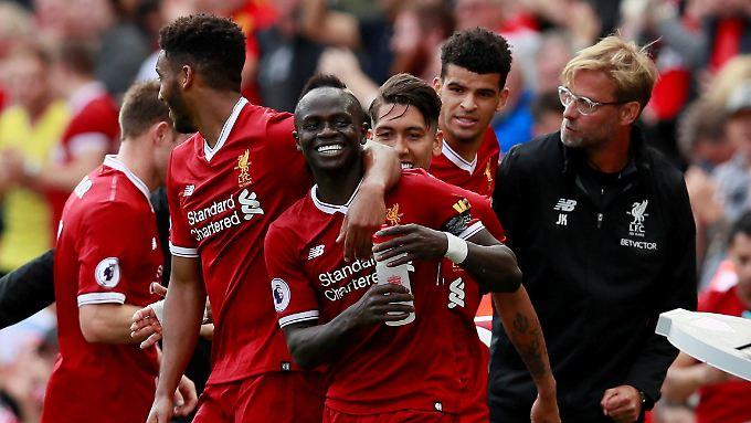 Sadio Mané erlöste Jürgen Klopp und den FC Liverpool gegen Crystal Palace.