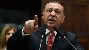 """Verbalattacke auf Sigmar Gabriel: Erdogan: """"Wer bist du, dass du mit dem Präsidenten redest?"""""""