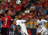Nullnummer bei Boateng-Comeback: Freiburg kann Frankfurt nicht knacken