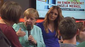 Kanzlerin begeistert und enttäuscht: Merkel geht mit To-do-Liste aus Bürgersprechstunde
