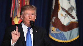 Afghanistan-Strategie vorgestellt: Trump greift Pakistan scharf an