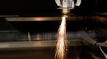 Hochpräzisionslaser des Laser-Maschinenbauers LPKF.
