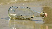 Gut 800 Kilmeter zurückgelegt: Flaschenpost aus Rhodos landet in Gaza