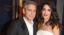 Eine Million für Bürgerrechtler: Clooneys spenden gegen den Hass