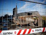 Das Wrack des U-Boots ist mittlerweile geborgen worden - und ein Beweisstück in dem Fall.