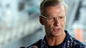 Kollisionen von Kriegsschiffen: US-Marine setzt Vizeadmiral ab