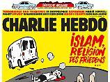 """Islamologe mit Riesenerektion: Todesdrohungen gegen """"Charlie Hebdo"""""""