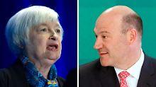 Ex-Goldman-Manager Gary Cohn gilt neben der bisherigen US-Notenbank-Chefin Janet Yellen als Top-Anwärter.