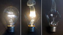 Fünf Jahre nach EG-Verordnung: Ganz verschwunden ist die Glühlampe nicht
