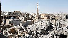 20.000 Zivilisten eingeschlossen: UN fordern Waffenruhe für Rakka