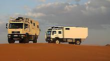 MD77h MAN TGS 6x6 heißt das jüngste Expeditionsmobil von Unicat und ist eigentlich ein Wohnmobil.