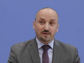 Bekir Yilmaz, eine prominente Stimme, wenn es um die Angelegenheiten von Deutsch-Türken in Berlin geht.