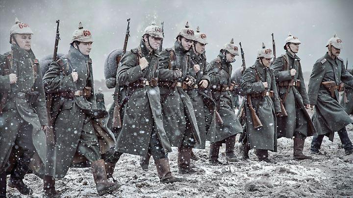 Der Erste Weltkrieg war eine bis dato noch nicht dagewesene Material- und Menschenschlacht.