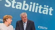 Seehofer denkt bereits an 2021: Merkel könnte noch einmal antreten