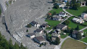 Erneuter Felssturz in Graubünden: Hoffnung für vermisste Wanderer schwindet