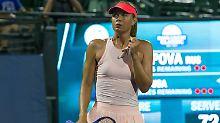 Tennis-Diva zurück bei US Open: Scharapowa verdreht New York den Kopf