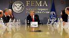 Es ist eine neue Herausforderung für Donald Trump: Zum ersten Mal in seiner Amtszeit …