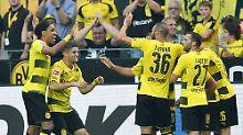Sahins Traumtor macht es möglich: Dortmund zieht wieder an den Bayern vorbei