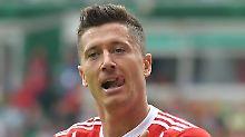 Umfrage: Hat Bayern-Stürmer Robert Lewandowski mit seinem Interview eine Grenze überschritten?