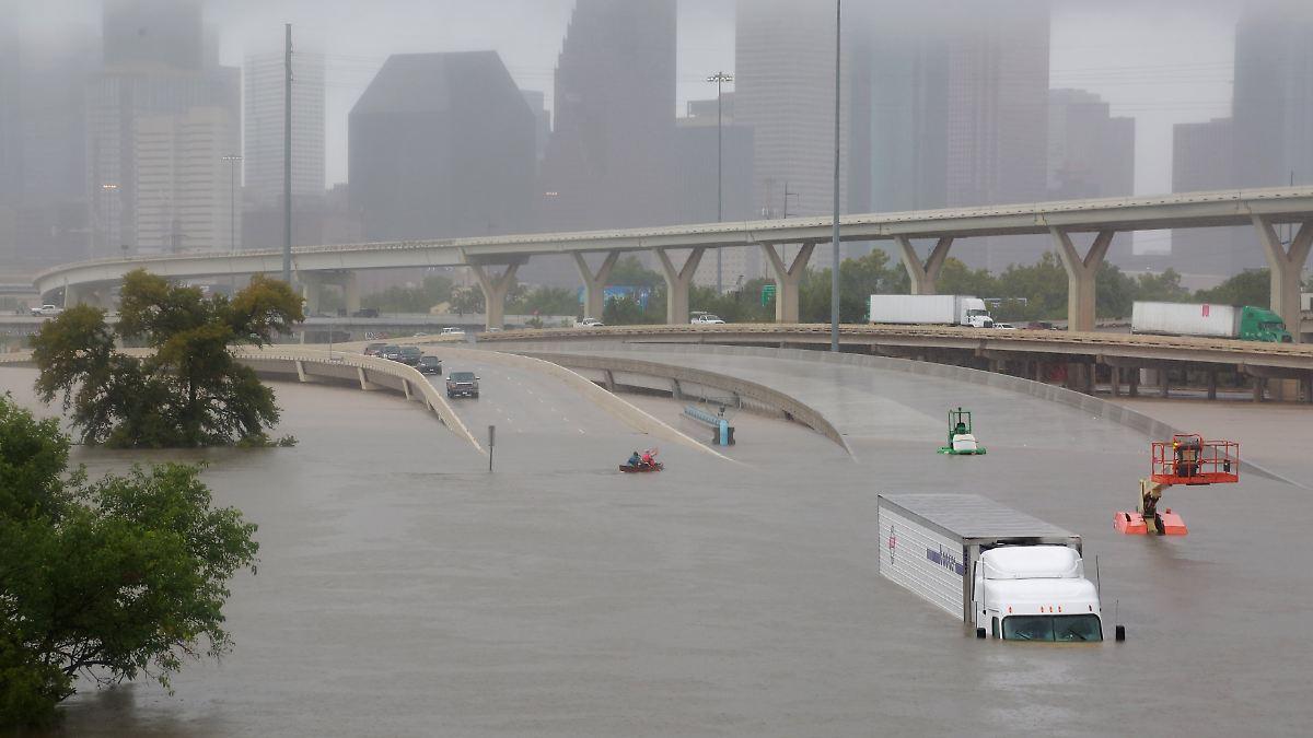 US-Stadt Houston drohen weitere Fluten