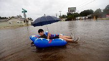 "Flutchaos in den USA: Sturm ""Harvey"" überschwemmt Texas"