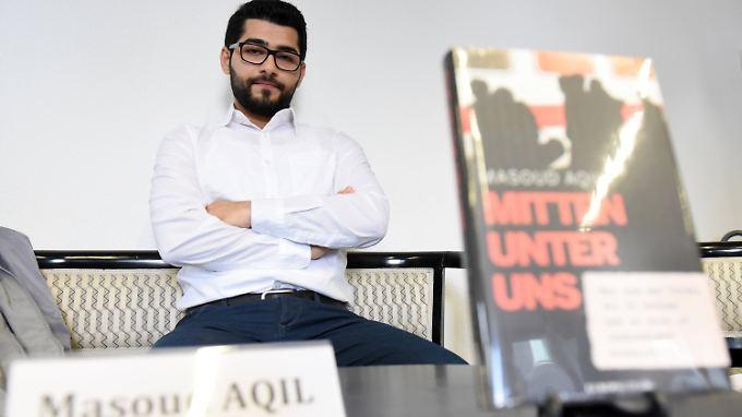 Masoud Aqil  will gegen den IS kämpfen, hier in Deutschland.