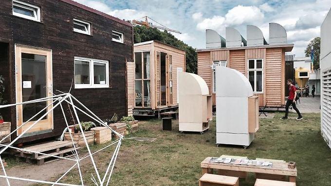 Ein Dutzend Tinyhouses entstanden in den vergangenen Monaten bereits.
