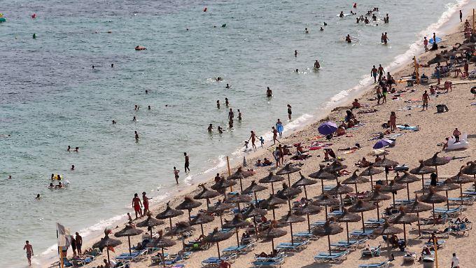 Magaluf ist ein beliebter Ferienort auf Mallorca.