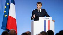 Französische Zukunftspläne: Macron will Steuerpolitik in EU angleichen