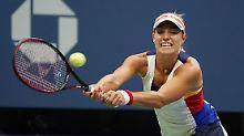 Katastrophen-Aus in Runde eins: Angelique Kerber scheitert bei US Open