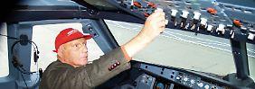 Teileinstieg bei Air Berlin?: Lauda möchte Niki übernehmen