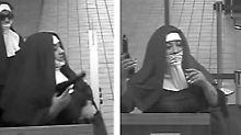 Knarre statt Klingelbeutel: Falsche Nonnen überfallen Bank