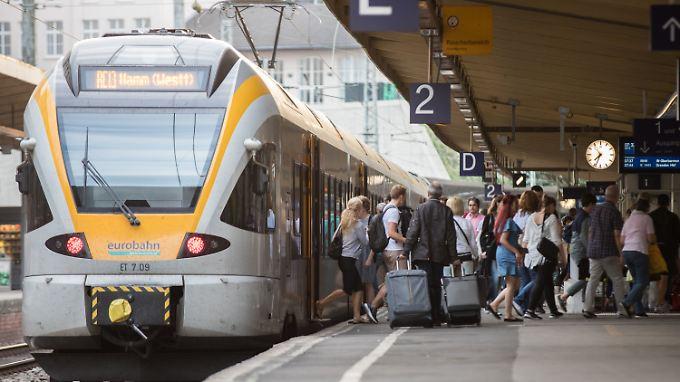 Zugreisen von und nach Wuppertal sind wieder möglich.