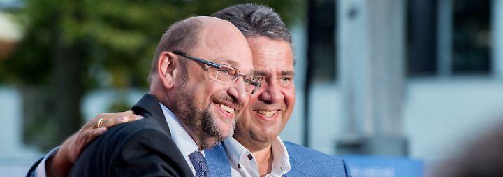Voller Einsatz trotz schlechter Werte: Martin Schulz kämpft unermüdlich weiter