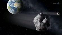 Glück gehabt!: Riesen-Asteroid rast an der Erde vorbei