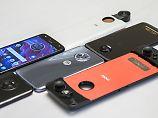 X4, Z2 Force und neue Mods: Motorolas Neue haben viel drauf und drin