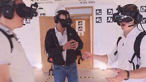 """Startup News: Illusion-Walk-Gründer: """"Menschen dürfen nicht zu echt aussehen"""""""